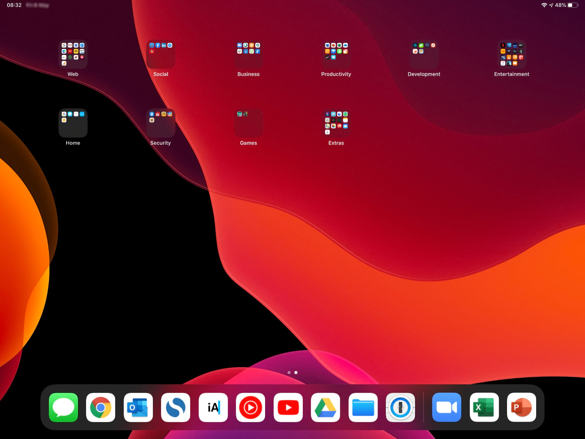 iPadOS Second Screen